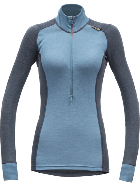 Devold W's Wool Mesh Half Zip Neck Shirt Orion